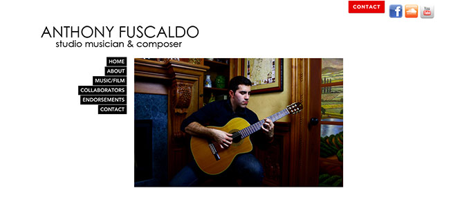Anthony Fuscaldo Website